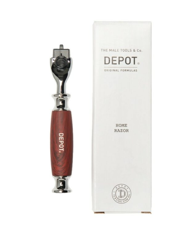 DEPOT WOOD & STEEL LUXERY HOME RAZOR (3 messen)